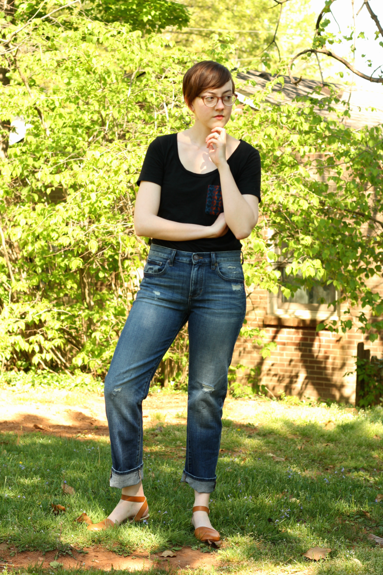 boyfriend jeans ethical outfit
