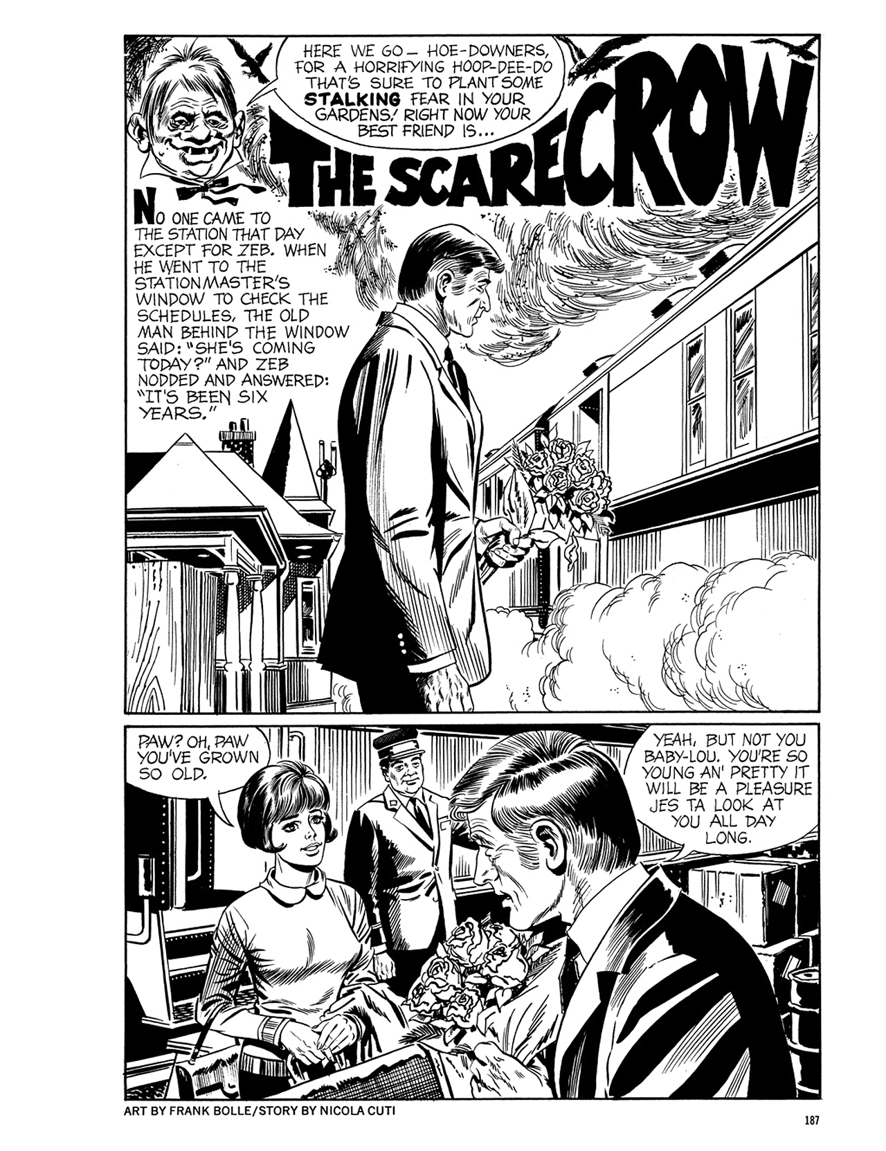 Read online Eerie Archives comic -  Issue # TPB 5 - 188
