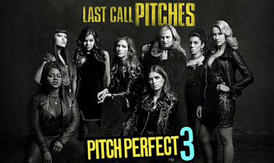 Review Filem Pitch Perfect 3, English Movie, English Film, English Movie Pitch Perfect 3, Pitch Perfect 1, Pitch Perfect 2, Sinopsis Pitch Perfect 3, Pitch Perfect 3 Cast, Pelakon Filem Pitch Perfect 3, Anna Kendrick, Rebel Wilson, Brittany Snow, Anna Camp, Hailee Steinfeld, Hana Mae Lee, John Lithgow, OST, Ending, Poster Pitch Perfect 3, Happy Ending,