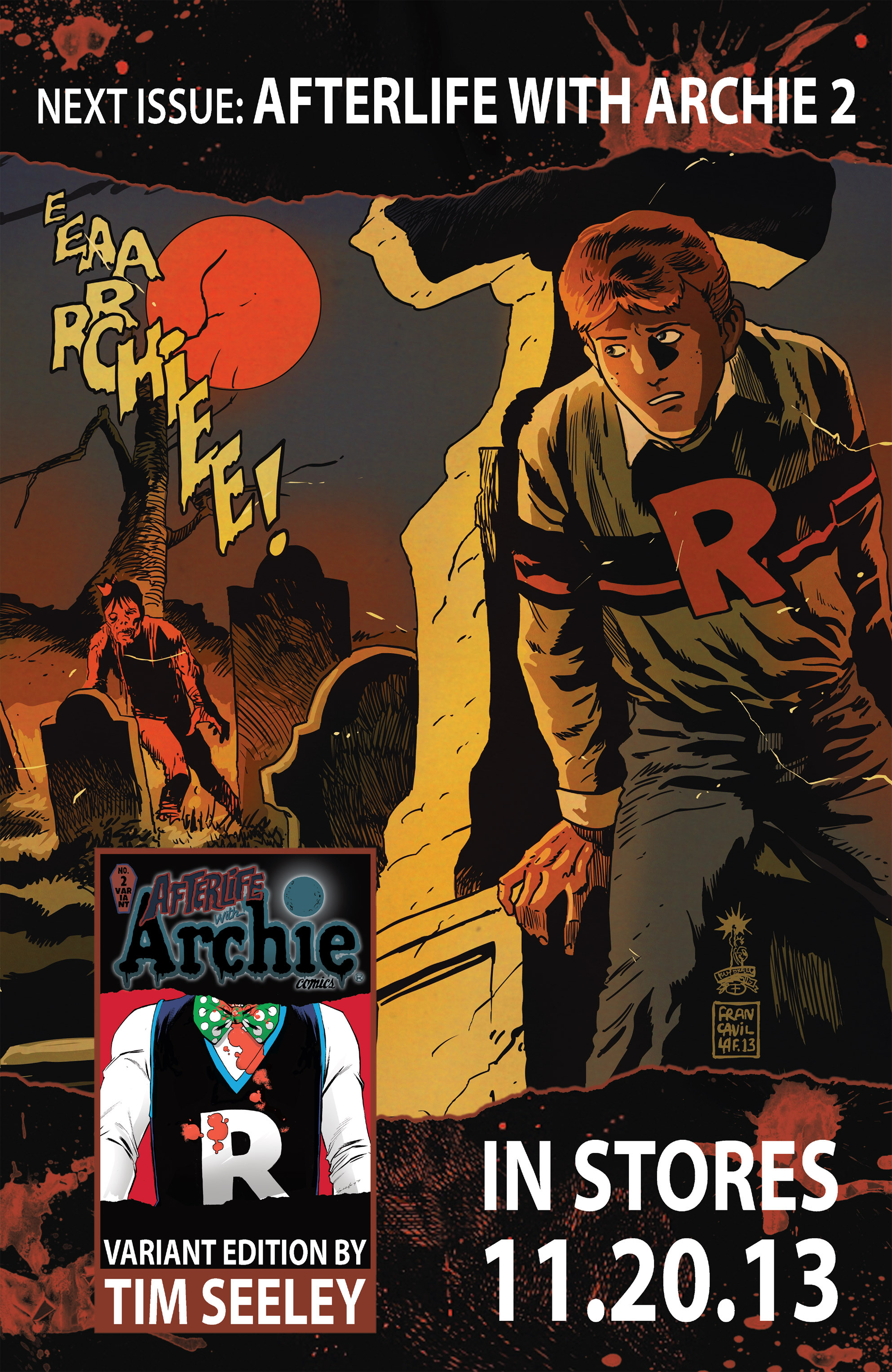 Read online Afterlife with Archie comic -  Issue #1 - 31