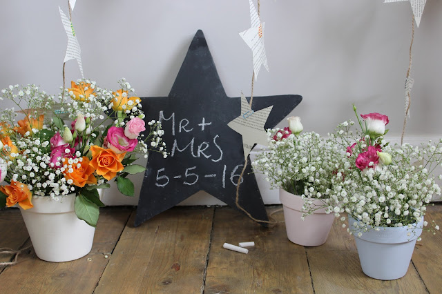 DIY Star Chalkboard
