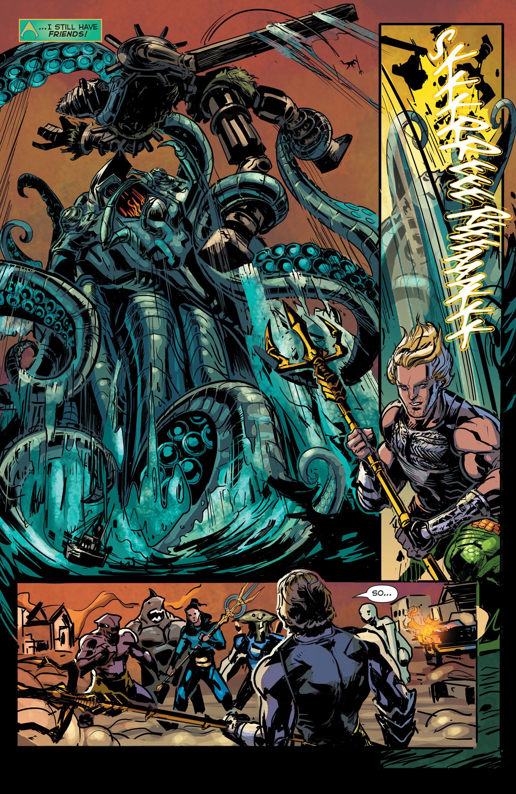 Read online Aquaman (2011) comic -  Issue #43 - 19