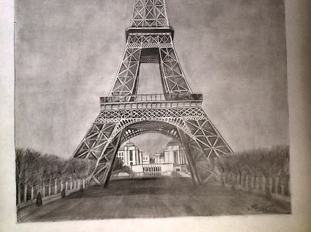 Eiffel Tower - Drawing Dreams Of Architect