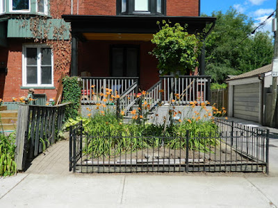 Leslieville Frontyard Garden Summer Cleanup After by Paul Jung Gardening Services--a Toronto Gardening Company
