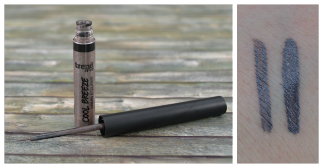 trend it up cool breeze LE liquid eyeliner 030 und Swatch