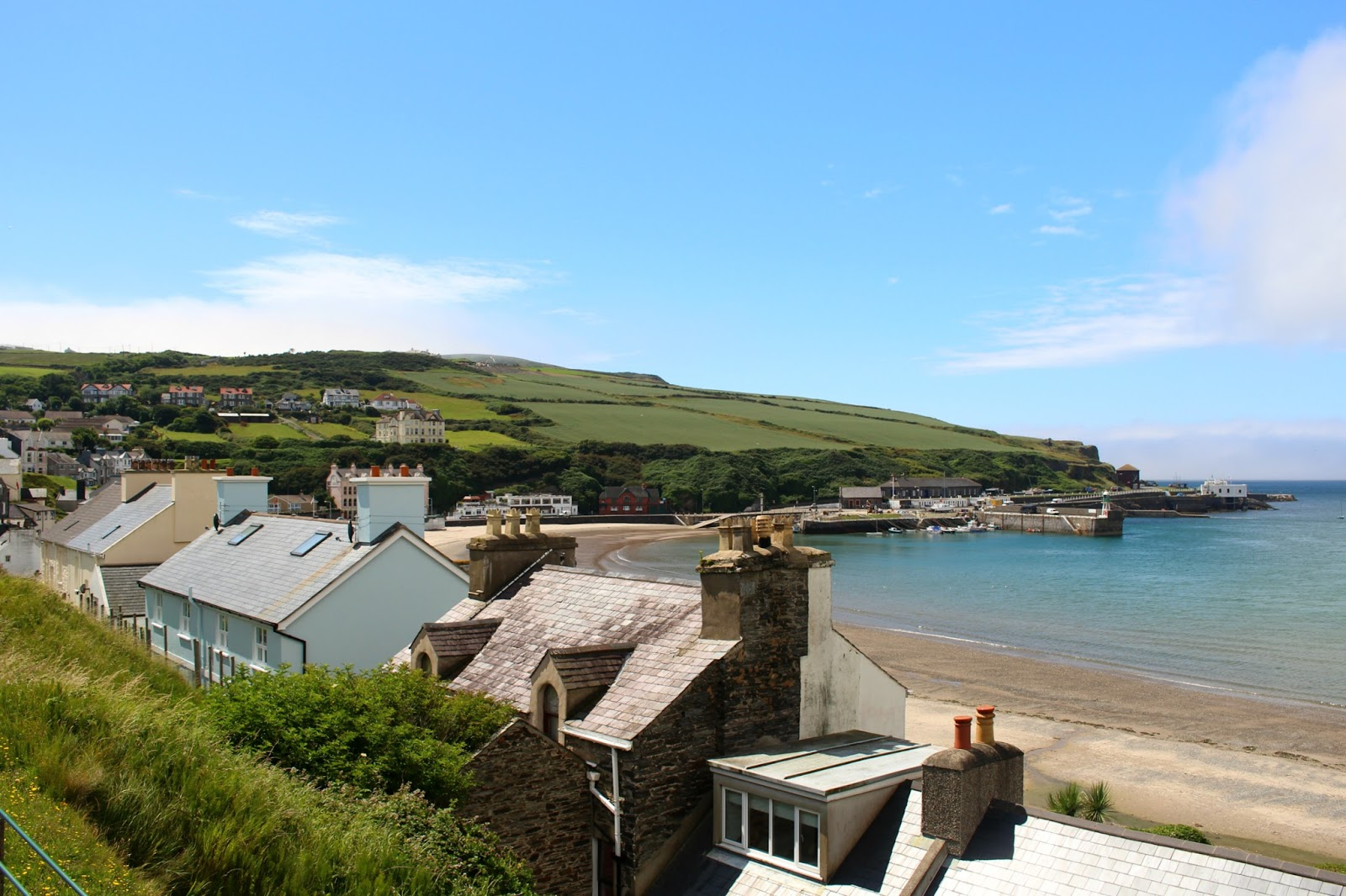 Isle Of Man Photo Diary Port Erin summer photography