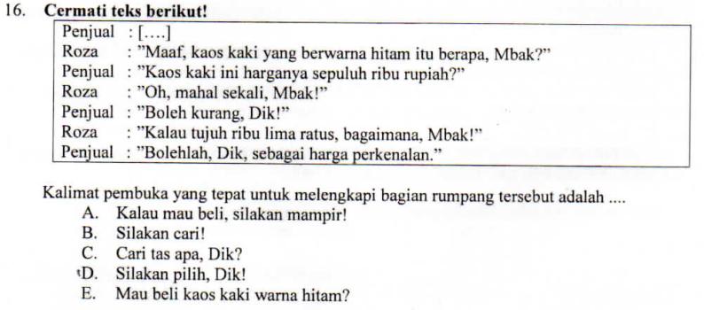 Melengkapi Teks Negosiasi Zuhri Indonesia