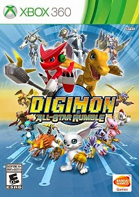 Digimon All-Star Rumble (X-BOX360) 2014 DUBADO PT-BR