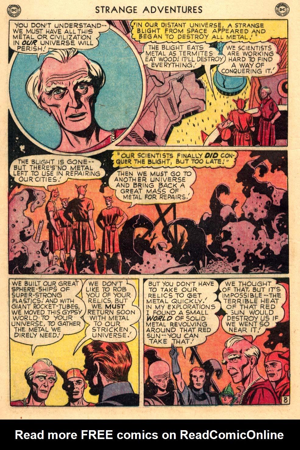 Strange Adventures (1950) issue 3 - Page 10