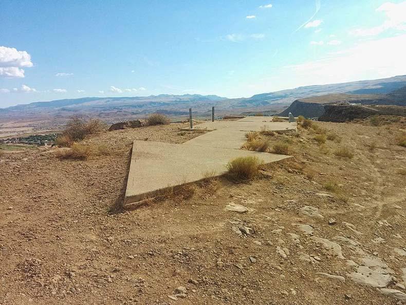 Las flechas gigantes de la ruta del correo | Estados Unidos