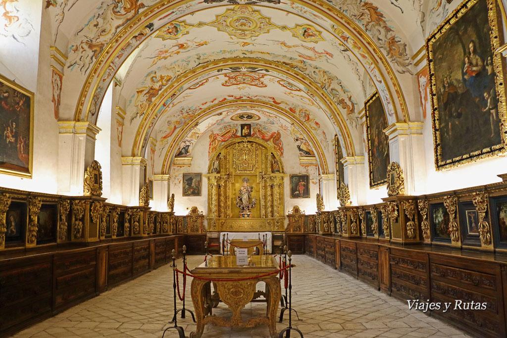 Sacristía. Monasterio de Yuso, san Millán de la Cogolla