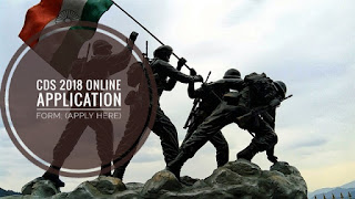 CDS 2018 Online Application Form