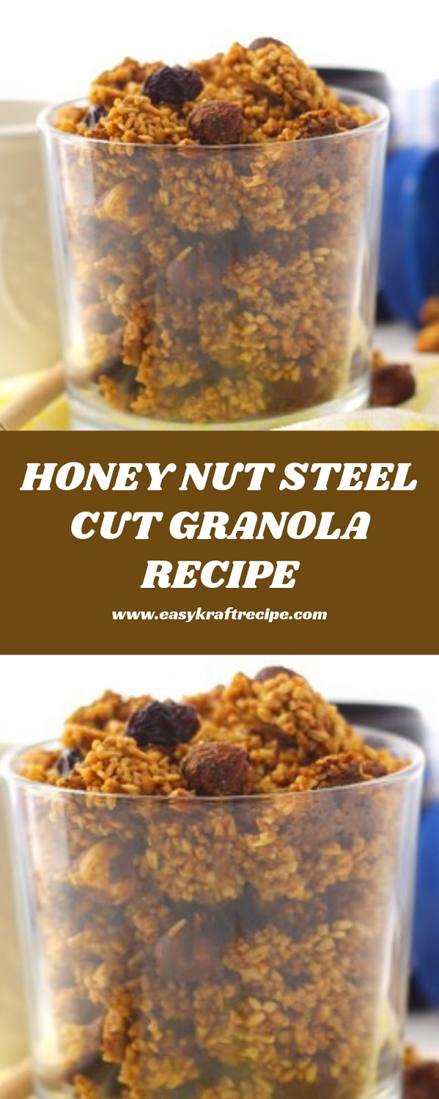 HONEY NUT STEEL CUT GRANOLA