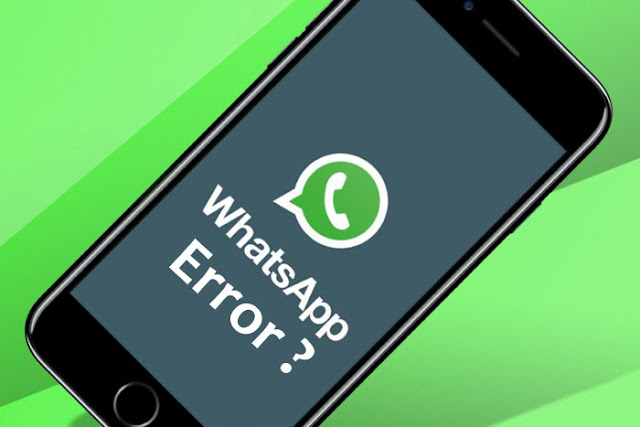 whatsapp error