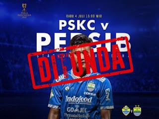 PSKC Cimahi vs Persib Bandung Ditunda