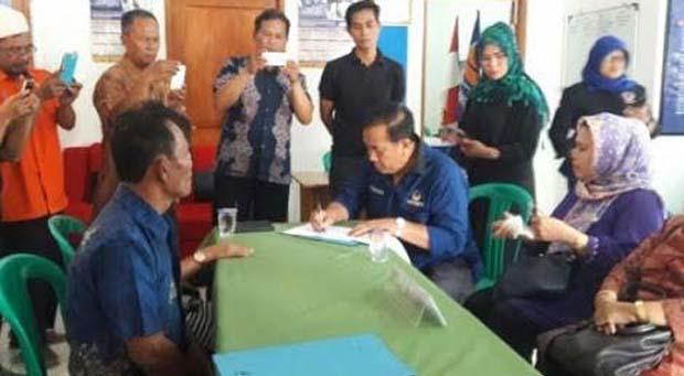 DPP Nasdem Cimahi Sosialisasikan Bakal Calon Legislatif