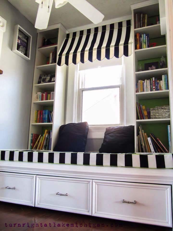 Idea Ruang Bacaan / Perpustakaan di Rumah, Cantik Cantik