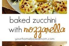 Recipe - Baked Zucchini with Mozzarella