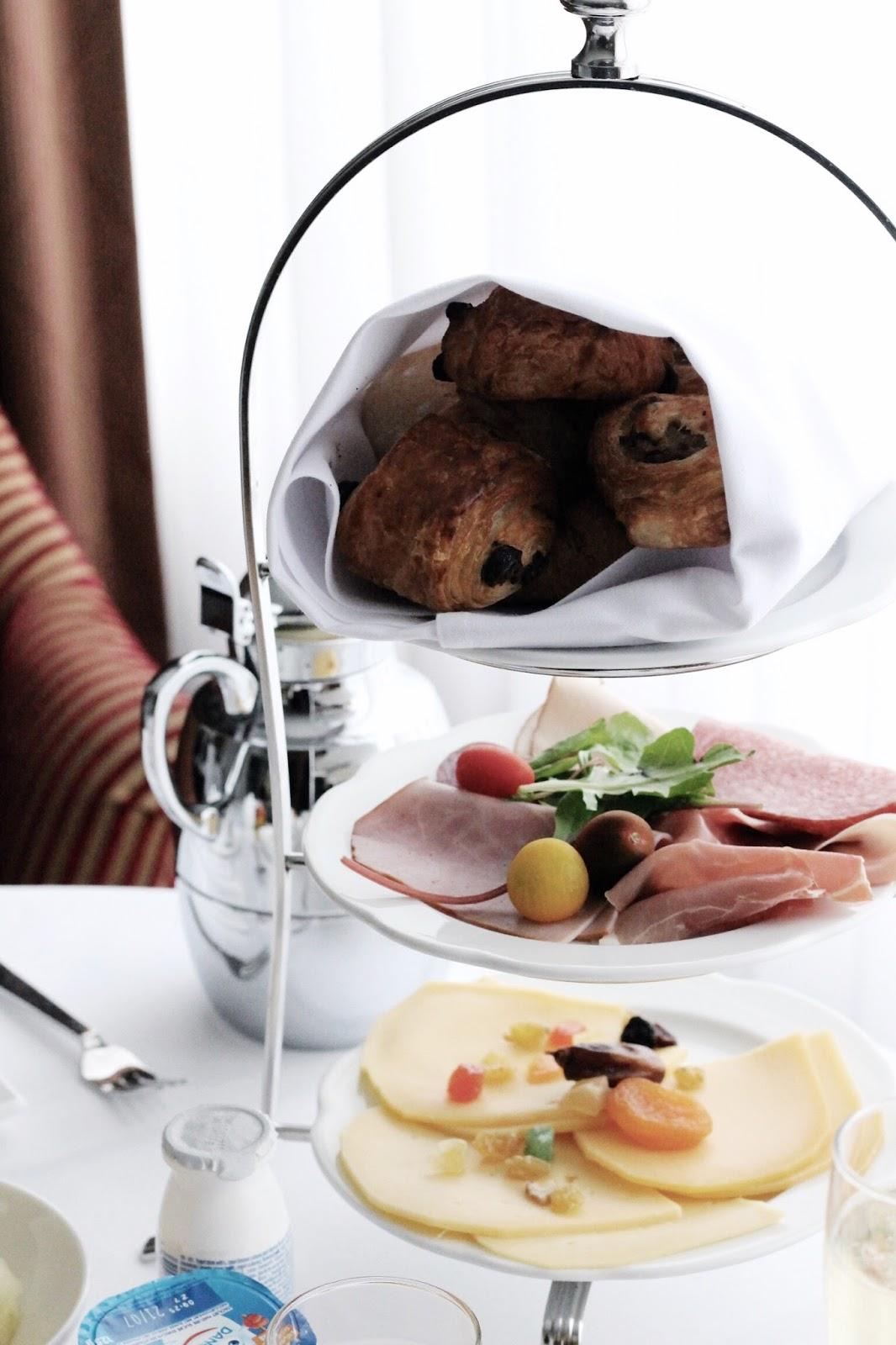 Hotel Dukes' Palace Room Service Continental Breakfast
