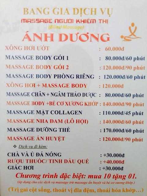massage người mù hcm ánh dương