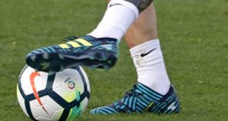 80b3bc1c1e18 Messi Trains In Unreleased Signature Adidas Nemeziz Ocean Storm ...