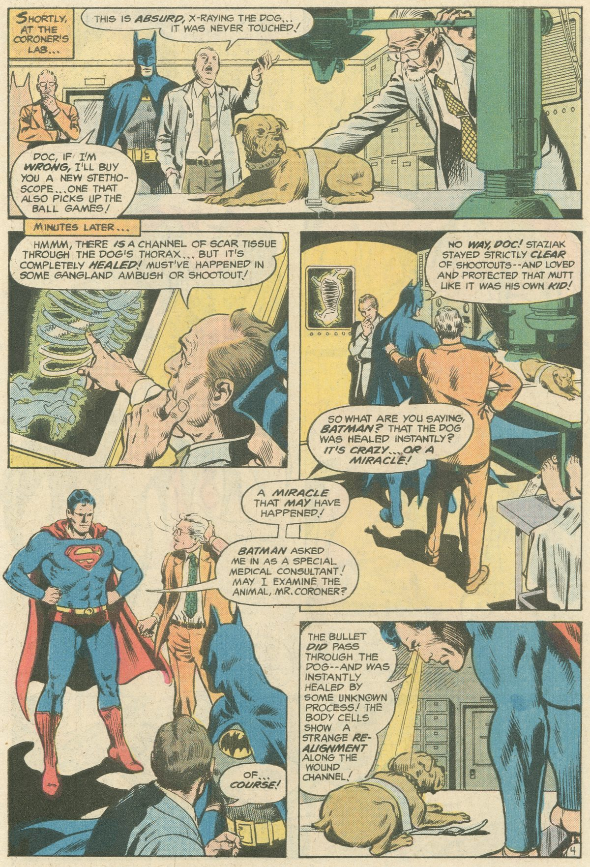 Read online World's Finest Comics comic -  Issue #244 - 7