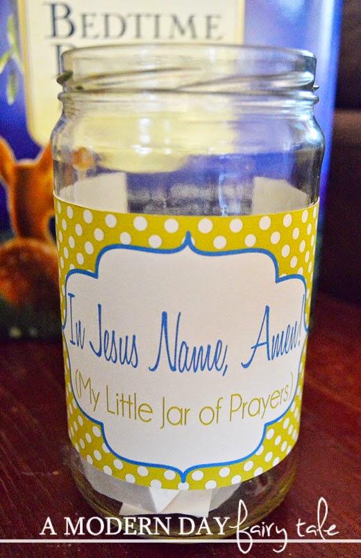 A Little Jar Of Prayers Kids Craft Nationaldayofprayer A Modern Day Fairy Tale