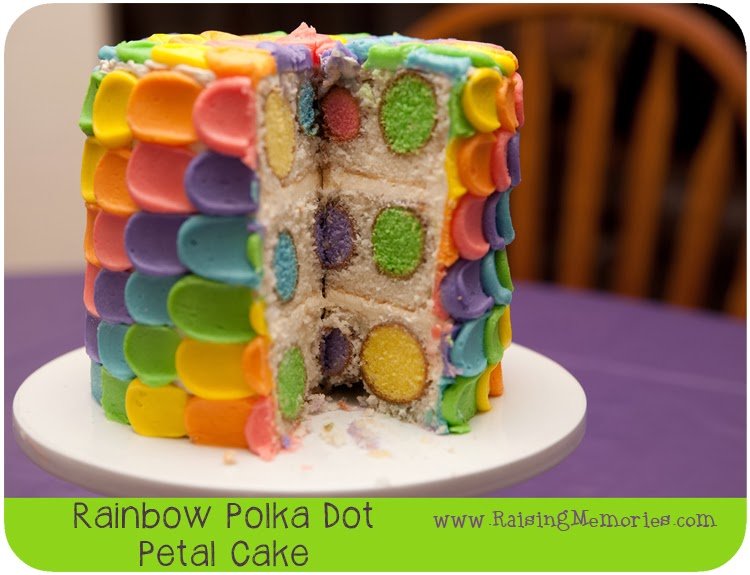 Polka Dot Surprise Cake Tips and Tricks