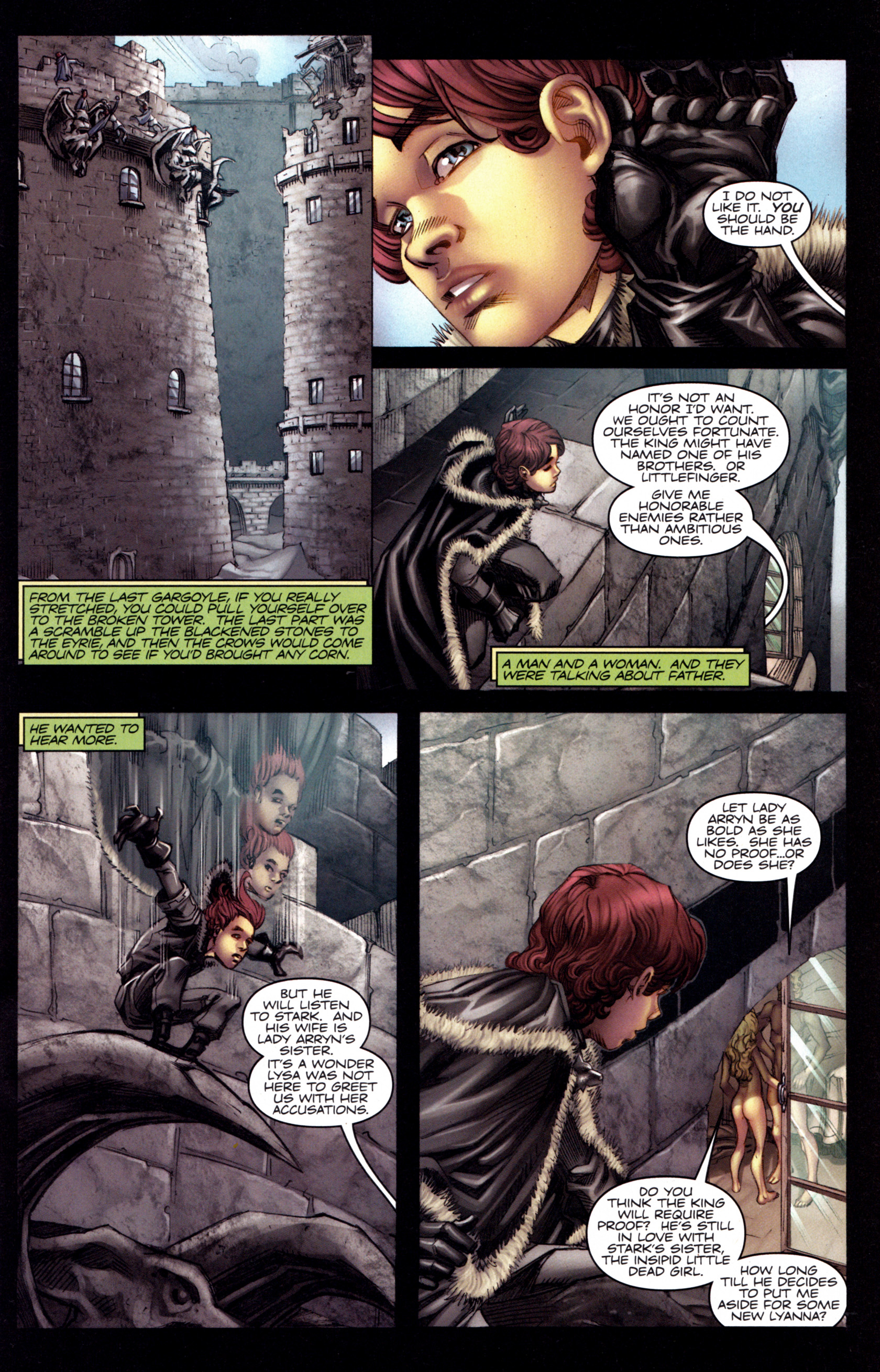 Read online A Game Of Thrones comic -  Issue #3 - 13