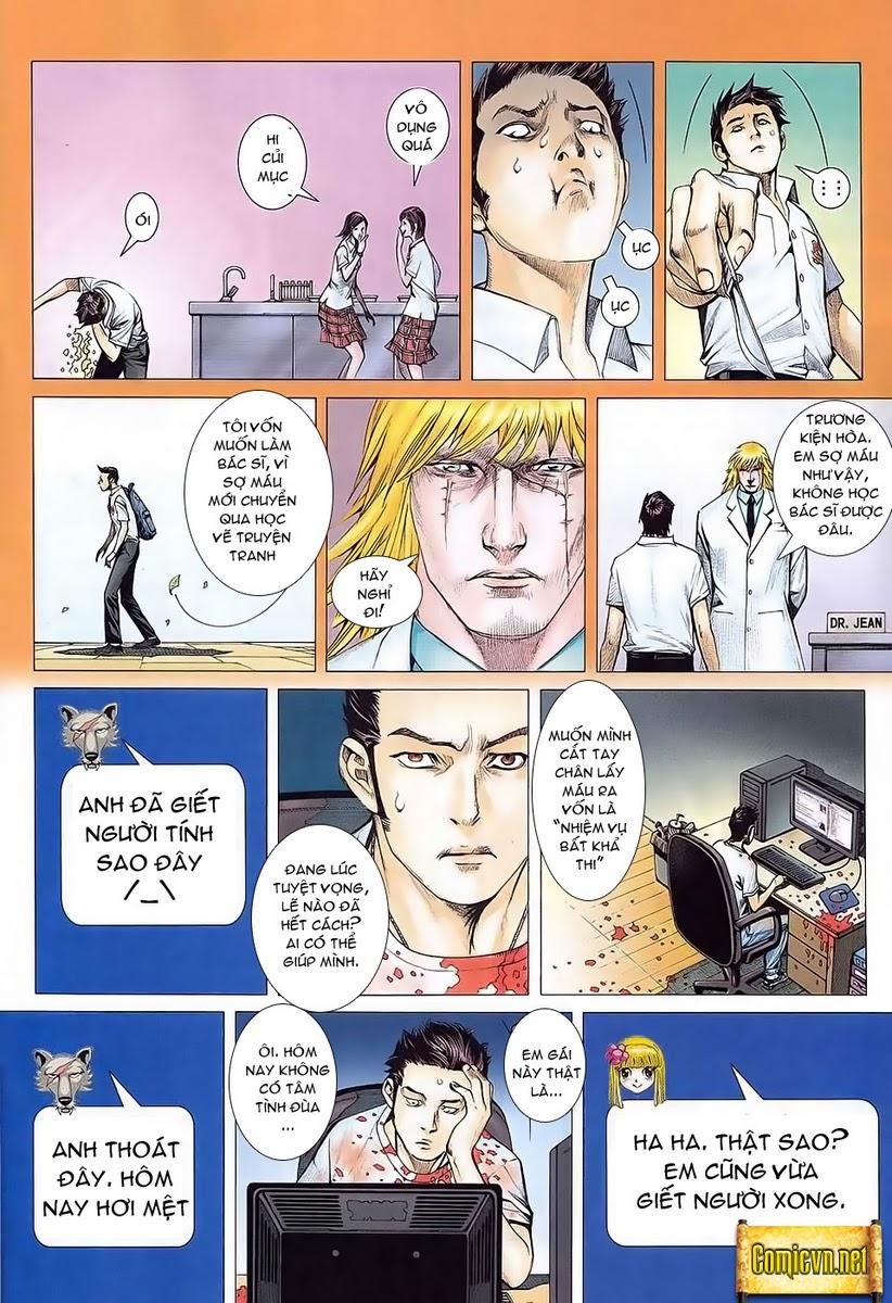Dã Lang Và Marry chap 1 - Trang 14