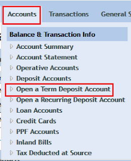Open Online Term Deposit in Vijaya Bank