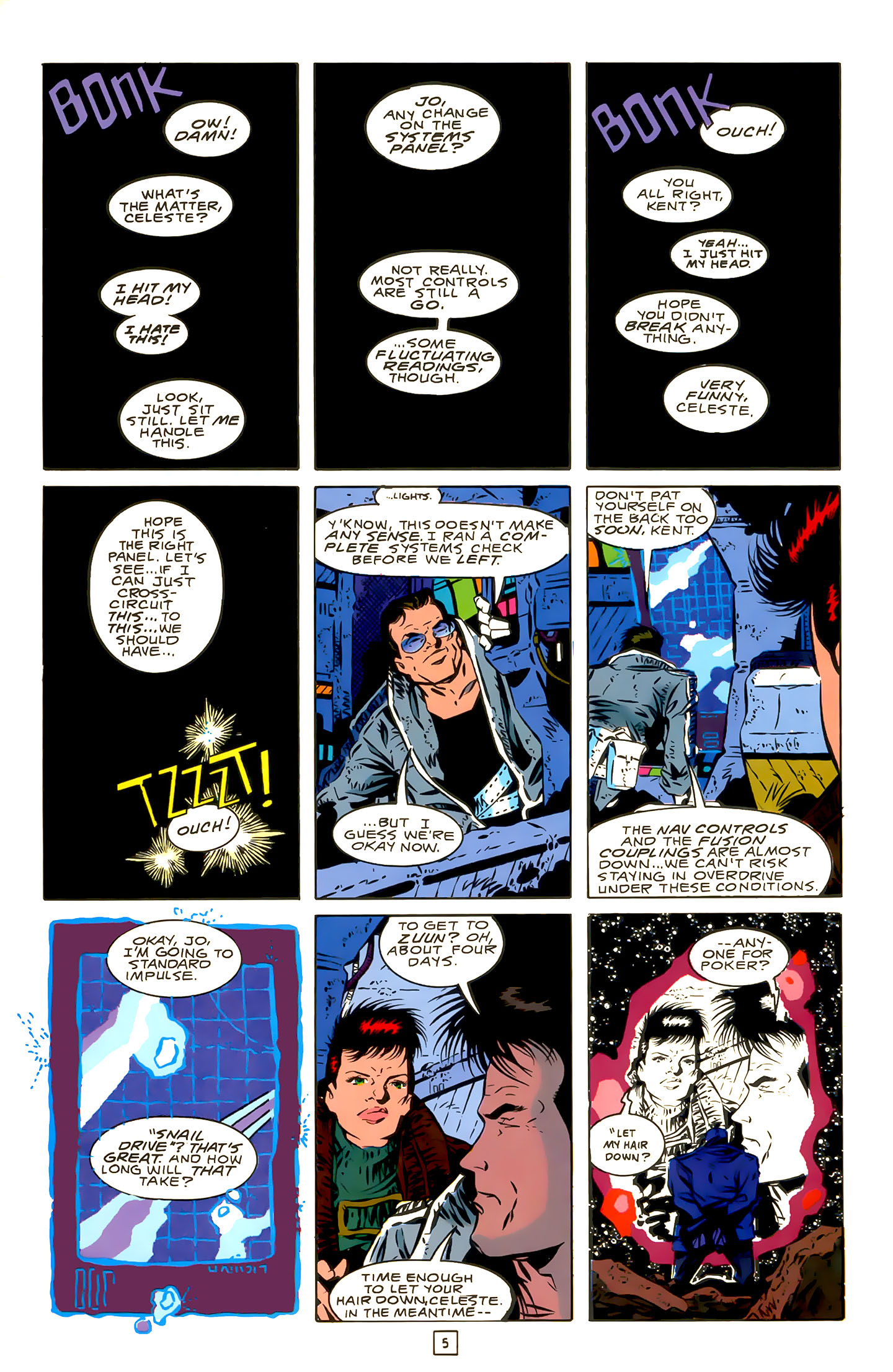 Legion of Super-Heroes (1989) 22 Page 5