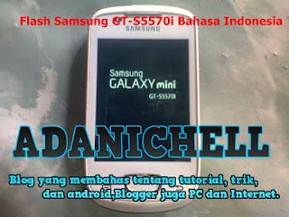 Flash Samsung GT-S5570i Bahasa Indonesia