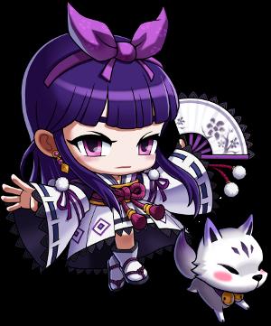 KamiNoBeniMizu Online Games: MapleStory Kanna