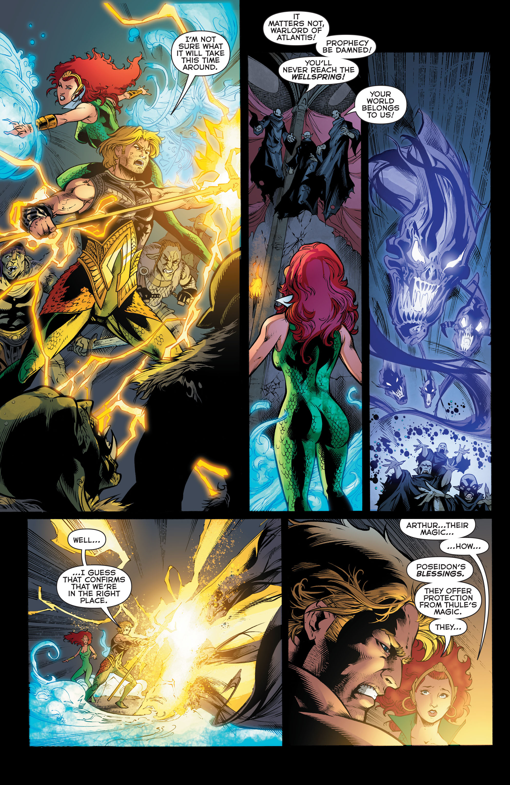 Read online Aquaman (2011) comic -  Issue #48 - 15
