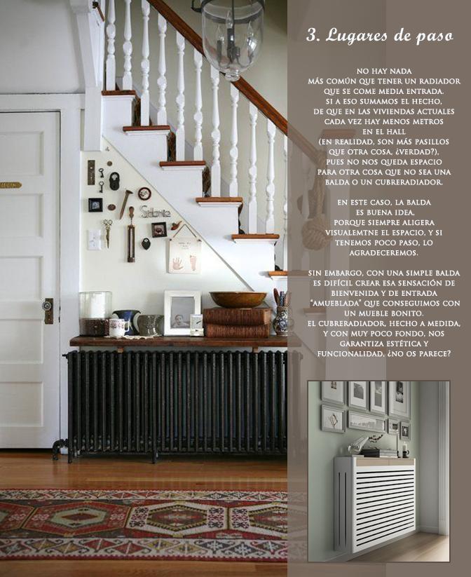 Cubreradiadores vs baldas la mejor opci n en cada caso - Muebles para cubrir radiadores ...