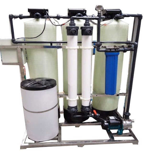 water softener treatment systems