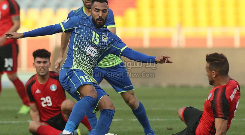 نادي القوة الجوية يحقق الانتصار الاول له على فريق نفط ميسان في افتتاح الدوري العراقي