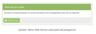 Mengenal Fitur Web Service Aplikasi Dapodik