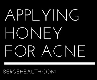 Honey For Acne Before And After