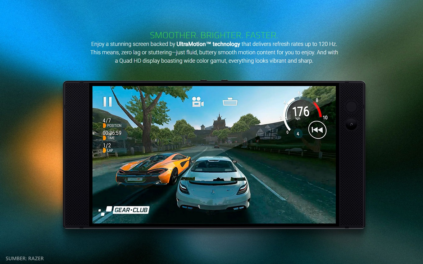 Razer Phone - Telefon Pintar Khas Untuk Gamers