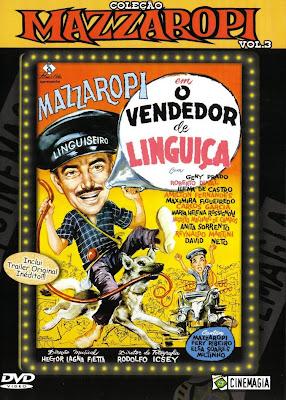 Mazzaropi: O Vendedor de Linguiça - DVDRip Nacional