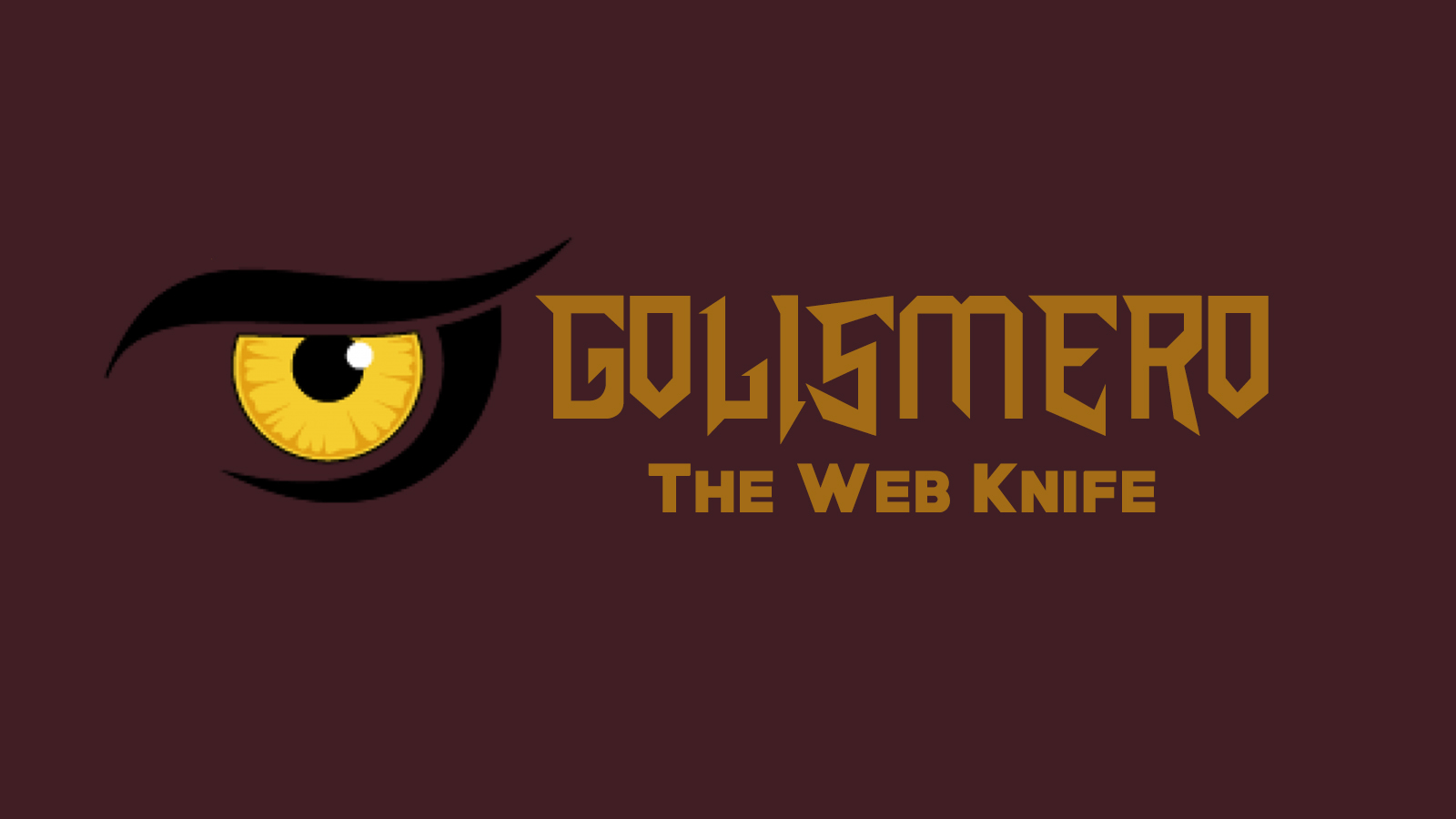 GoLismero - The Web Knife