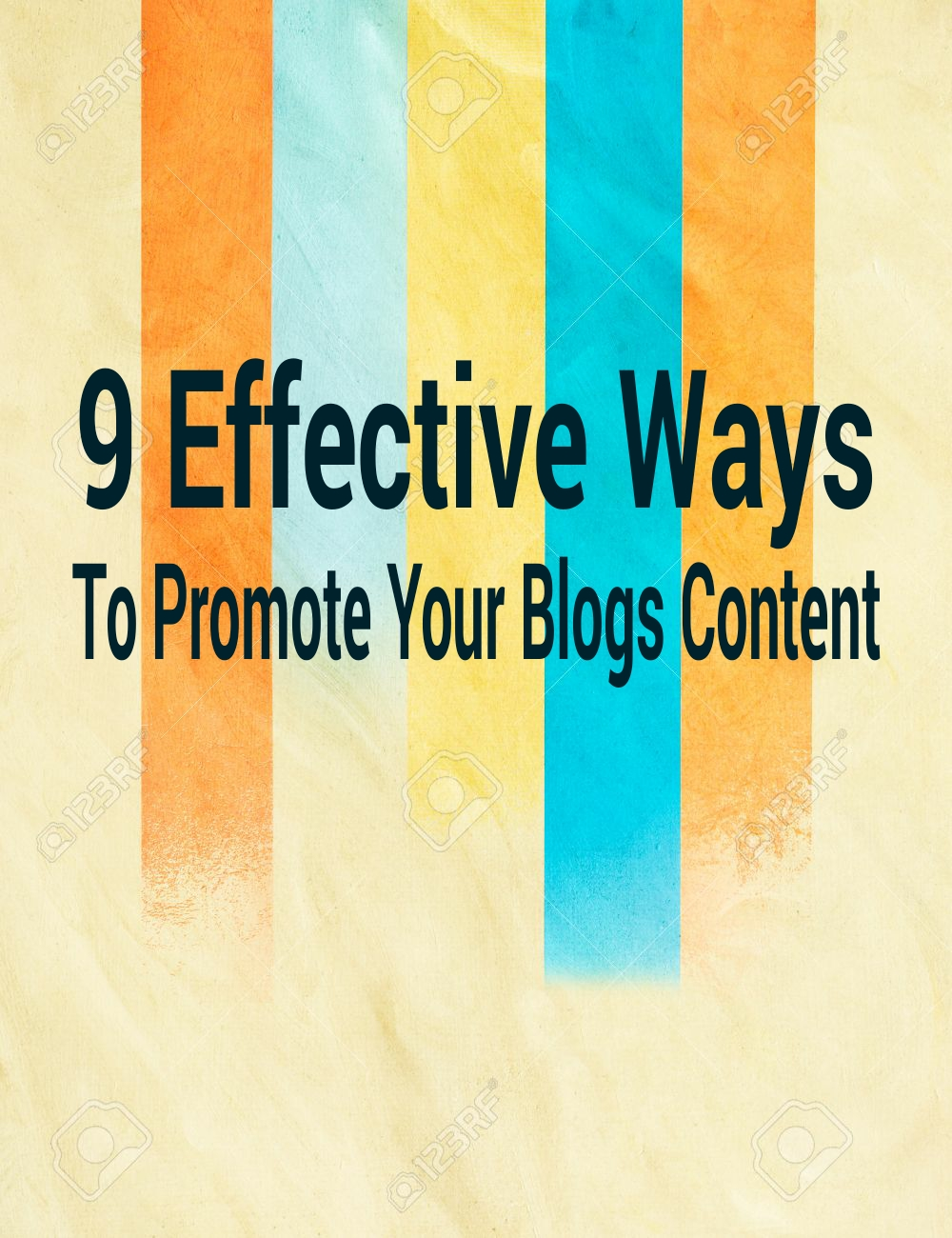 Effective ways to promote your blogs content