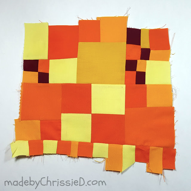 Improv Quilting by www.madebyChrissieD.com