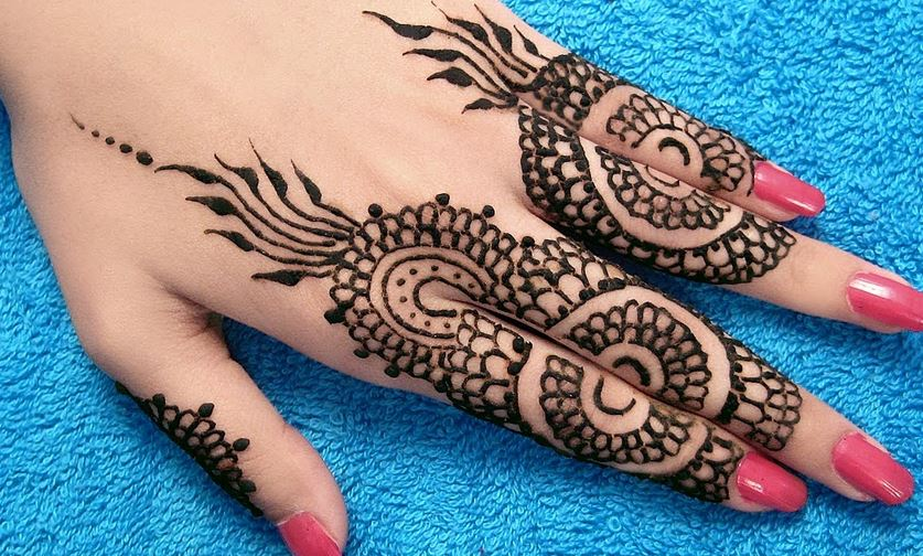 Latest Mehndi Hands : Latest mehndi designs for hands updated beauty