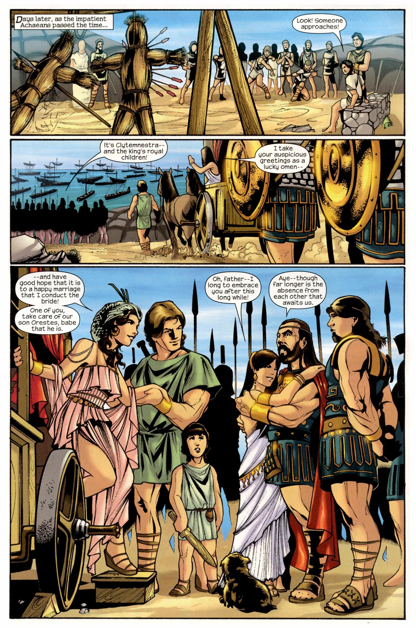 Read online Trojan War comic -  Issue #2 - 4