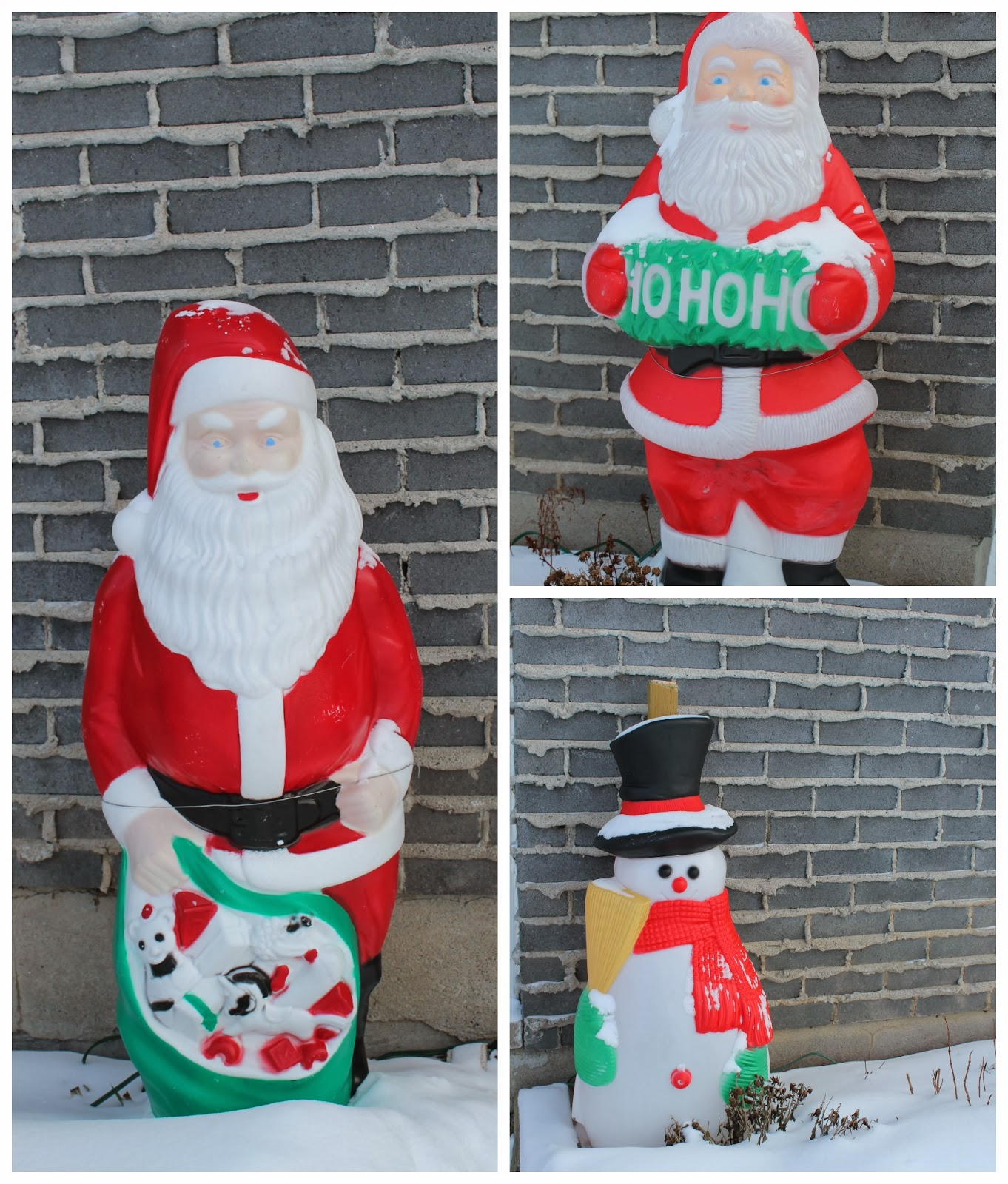 Christmas Blow Molds >> A Little Bit Of Everything Blow Molds Were Everywhere