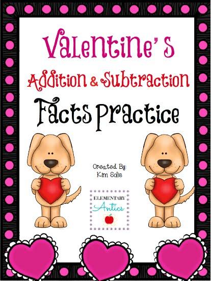 http://www.teacherspayteachers.com/Product/Valentines-Addition-Subtraction-Facts-Practice-1066171