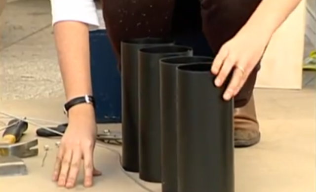 Como hacer una cava de vinos con tubos de PVC